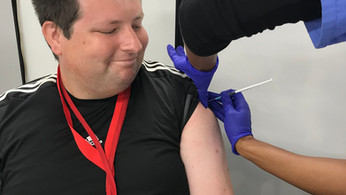 Learning disability charity supports residents to take up the jab