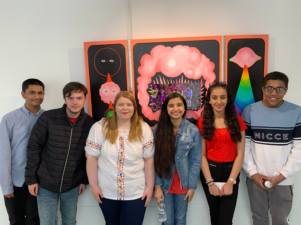 A group of young people from the Youth of Walsall.