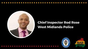 Black History Month Community Spotlight - Chief Insp. Rod Rose