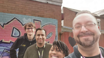 Connecting young people and the Walsall community together