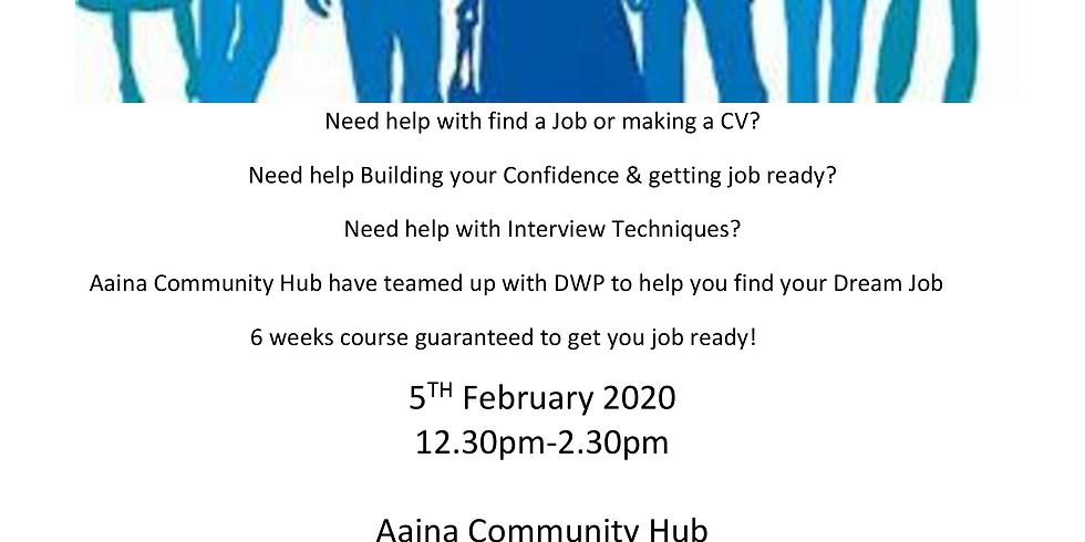Six Week Employability Course by A'aina Community Hub and DWP