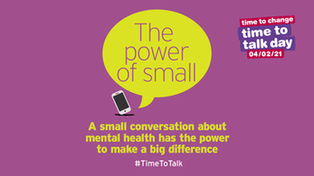 Time to Talk Day - 4th February 2021