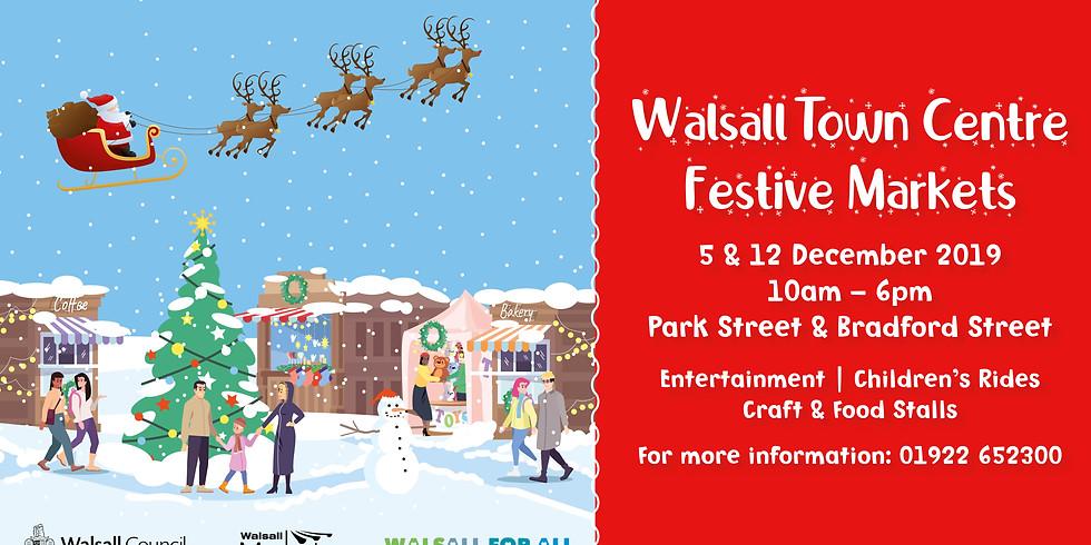 Walsall Town Centre Festive Markets