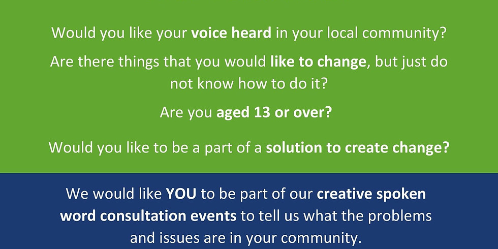 Your Voice Now - Creative Consultation (Youth Organisations)