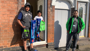 Youth Connect deliver over 650 activity packs to help support young people during lockdown