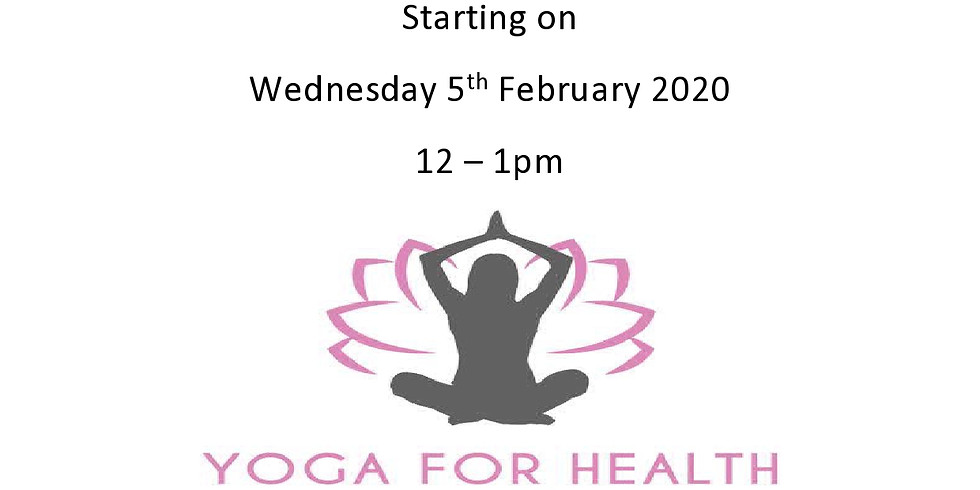 Weekly Hatha Yoga on Wednesday Afternoons at Nash Dom CIC (old Palfrey CA)