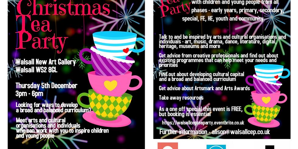 Walsall Cultural Education Partnership – Christmas Tea Party