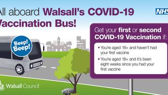 VIDEO: Walsall Vaccination Bus Walkthrough