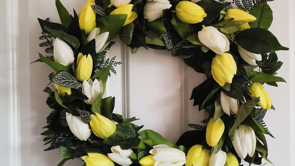 Spring Floral Wreath, Spring Wreath, Spring Swag, Floral Wreath, Summer Wreath,