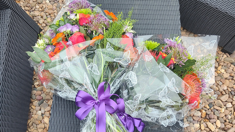 Bouquet of flowers (flat bouquet)