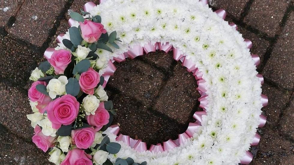 Massed wreath ring tribute