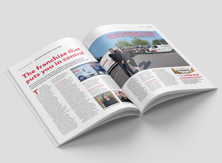 Revive! featured in March edition of Your Business with James Caan