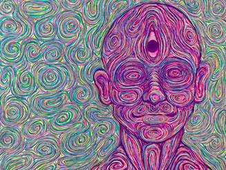 丸山誠也個展「Psychedelic works」