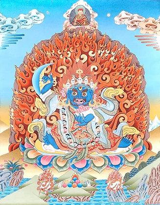 Two Armed Tibetan Buddhist Mahakala