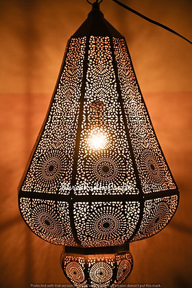 Modern Turkish Vintage Antique Look Moroccan Golden Ceiling Lights Home Lantern