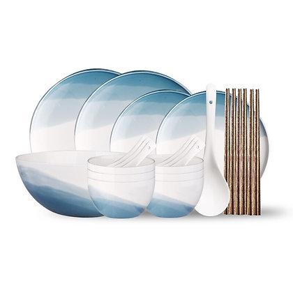 Wedding party valentine gift Ceramic plate set