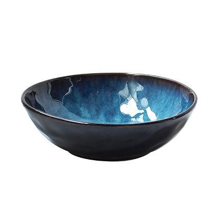 Ceramic Retro Japanese Style Soup Noodle Bowl Salad Instant Bowl