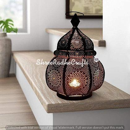 Moroccan Lantern Table lamp[ Vintage Lamp Candle Lamp Home Decor Arabian Lamp