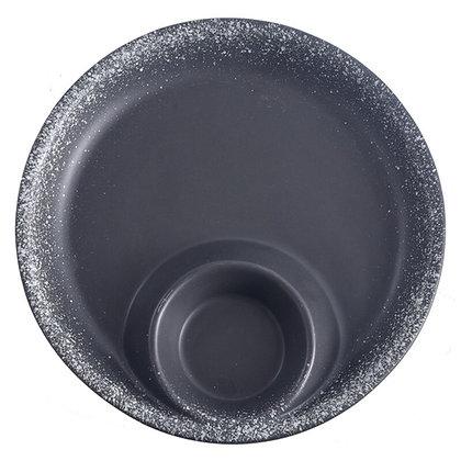 Round steak plate ceramic dish plate restaurant sauce plate snack plate