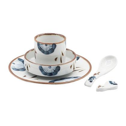 Ceramic plate set Salad bowl
