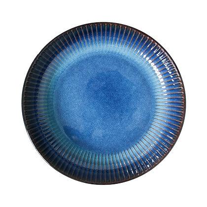 Japanese Western Ceramic Plate Steak dish Round breakfast plate