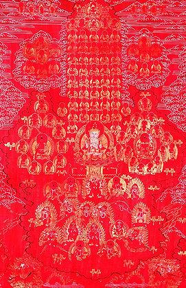 Tibetan Buddhist Guruparampara (Refuge Tree)