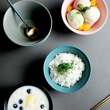 Nordic style Ceramic Bowl Dinner dessert salad bowl Eco-friendly Ice Cream Bowls