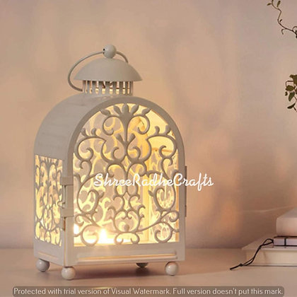 Vintage Antique Moroccan Lantern Iron Mix Light Pendant Ceiling Light