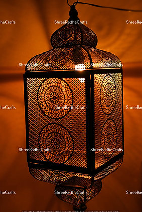 Christmas Gifted Black Moroccan Vintage Turkish Lantern
