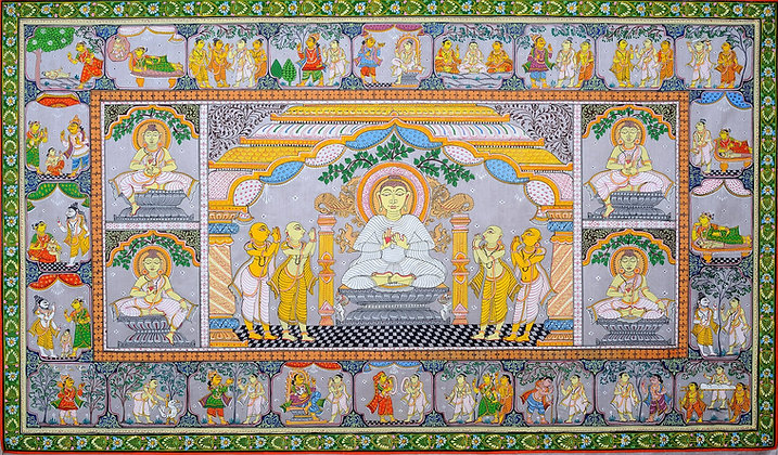 Gautama Buddha and the Scenes from His life