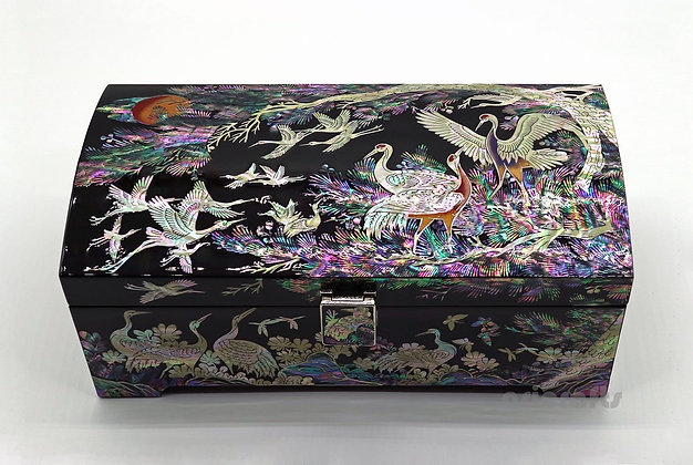 Nacre Mother of Pearl Jewelry Box