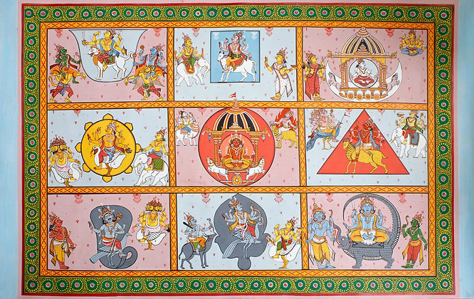 Navagrahas - The Nine Planets