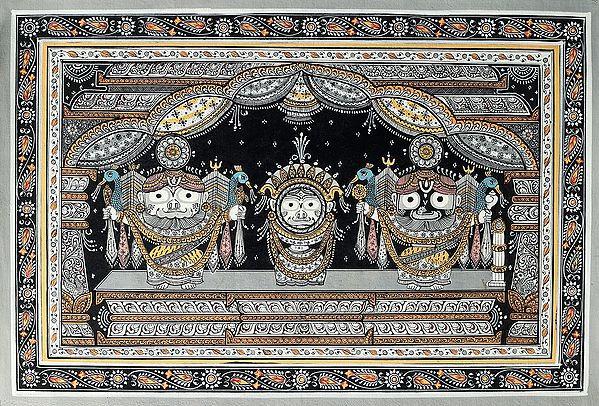The Holy Trinity of Jagannath