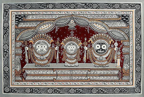 The Celestial Trinity of Jagannath
