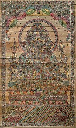 Shashabhujadhari Ganesha (Composite Figure)