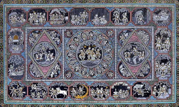 Shri Krishna Lila Pata