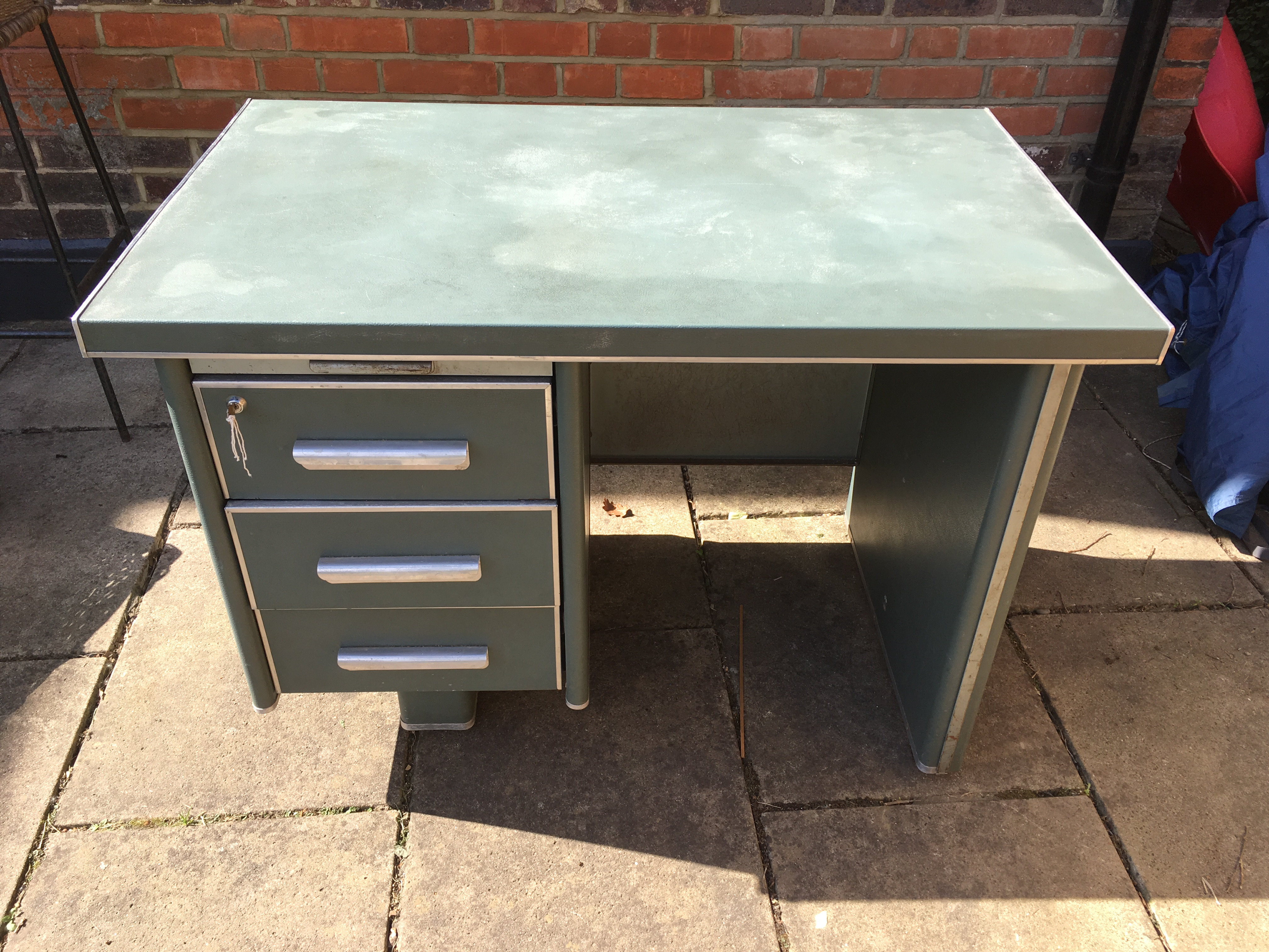 Industrial Style Office Desk Foxterior