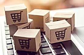 Online shopping - Paper cartons or parce