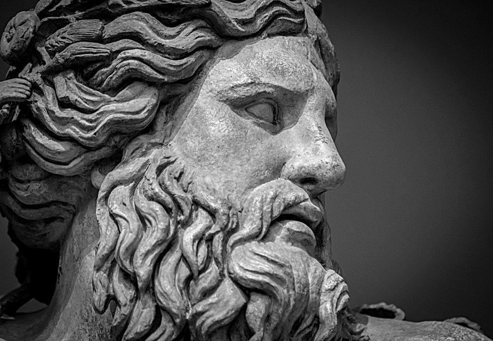 Ancient bust of Nile river god.jpg