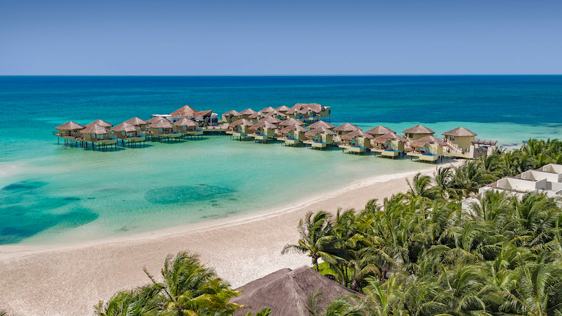 Overwater Bungalow in Mexico