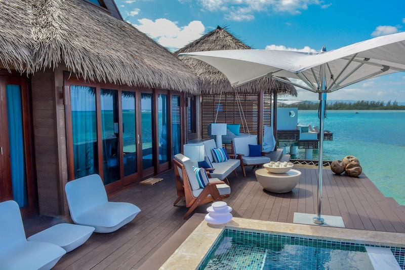Overwater Bungalow in the Caribbean