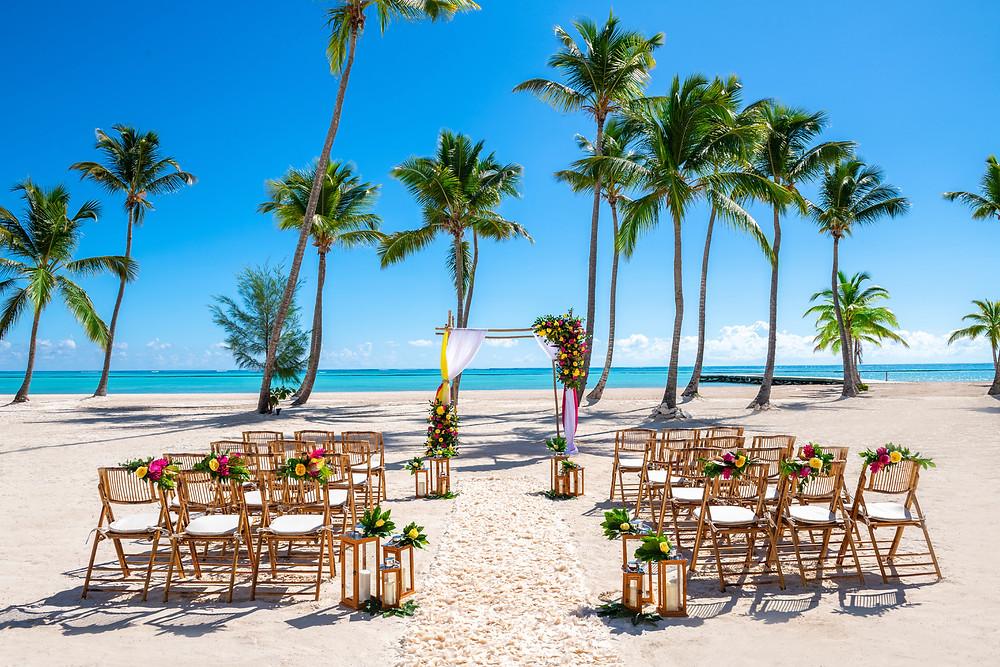 Hyatt Zilara Cap Cana Beach Wedding