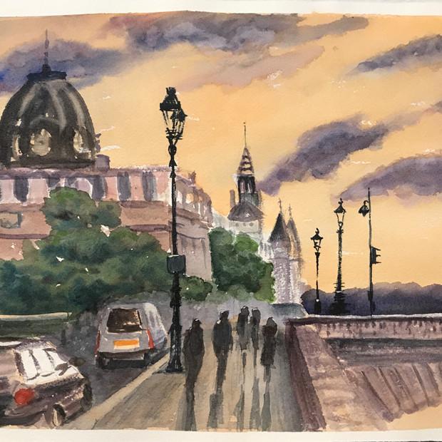 Near the Pont des Arts
