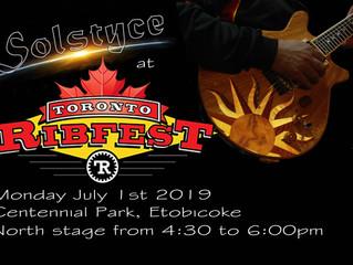 Solstyce at Toronto Ribfest