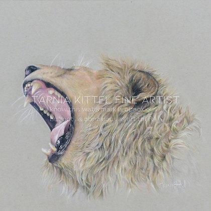 """""""I too am Cecil"""" - A4 Original"""