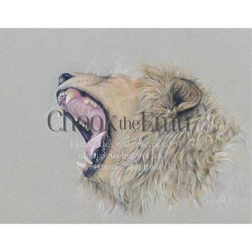 """I too am Cecil"" - Wall art print: Limited Edition"