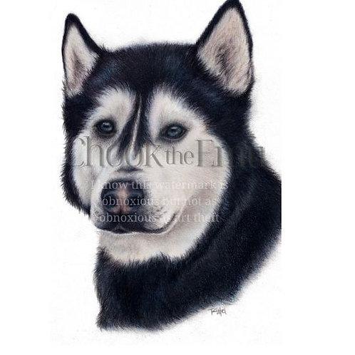 """""""Husky"""" - Wall art print"""