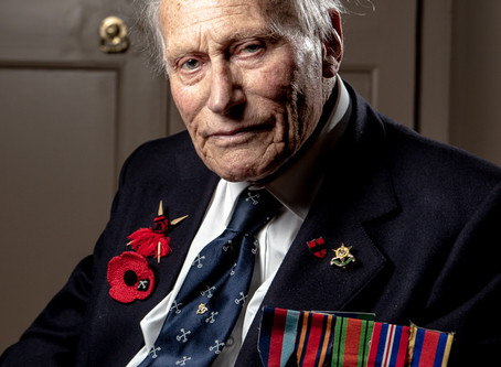 Photographing the Kohima Veterans