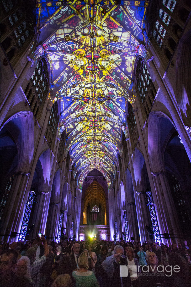 York Minster Northern Lights Ravage Productions