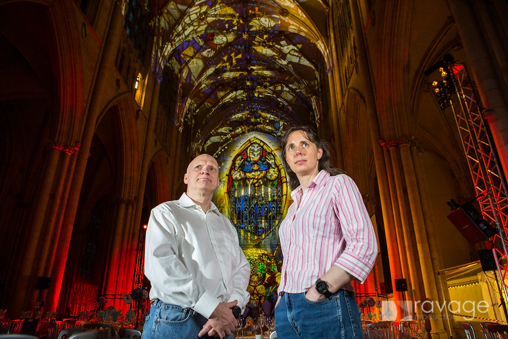 York Minster Northern Lights - Ross Ashton and Karen Monid